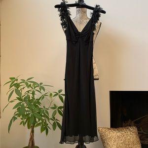 EUC 100% Silk Slip Dress